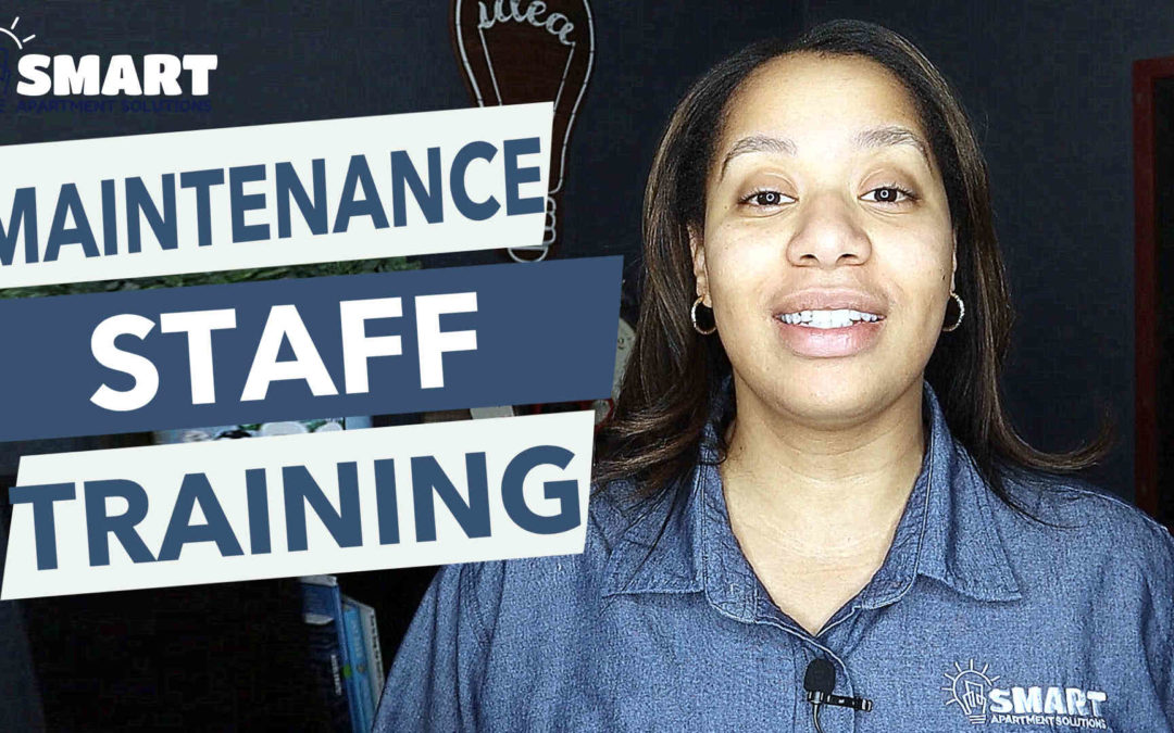 How To Train Your Maintenance Staff